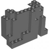 6082-85 Rechthoekig rotsstuk (BURP) LET OP: Kan niet door brievenbus, pakketzending grijs, donker (blauwachtig) NIEUW *5D0000
