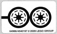 8014stk01 STICKER STAR WARS Clone Walker Battlepack NIEUW loc