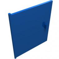 838-7G Deur voor kastje 837 blauw gebruikt *