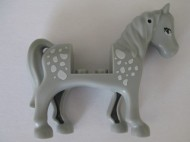 93083c01pb09-86 Friends paard Lichtblauwgrijze ogen, witte vlekken grijs, licht (blauwachtig) NIEUW *5K000