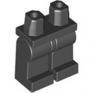 970c00-11G Benen en heupen gelijke kleur zwart gebruikt *2B000