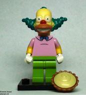 colsim-8 Krusty the Clown met vlaai en standaard NIEUW loc