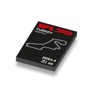 CUS1059 Formule 1 circuit Turkije wit NIEUW *0A000