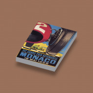 CUS3071 GP Monaco 1958 wit NIEUW *0A000