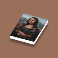 CUS4011 Tegel 2x3 Mona Lisa- Leonardo Da Vinci wit NIEUW *0A000