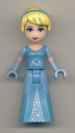 dp008 Disney Prinsess- Cinderella 2-kleurige jurk NIEUW *0M0000