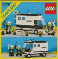 INS6676-G 6676 BOUWBESCHRIJVING- Mobile Command Unit gebruikt *LOC M3