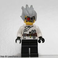 mof016 Monsters: Gekke Wetenschapper NIEUW loc Halloween