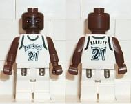 nba019G NBA Kevin Garnett, Timberwolves #21 gebruikt *0M0000