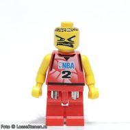 nba028 NBA Tony Parker, speler #2 VERENDE BENEN NIEUW *0M0000