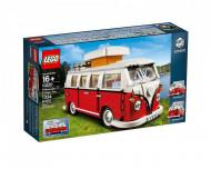 Set 10220-GB Volkswagen T1 camper gebruikt deels gebouwd *B036