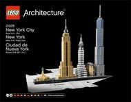Set 21028 - Architecture: New York City- Nieuw