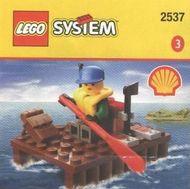 Set 2537 - Town: Extreme Team Raft- Nieuw