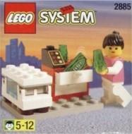 Set 2885 BOUWBESCHRIJVING- Ijsjesverkoopster Auto gebruikt loc LOC M1