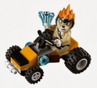 Set 30253 - Legends of Chima: Leonidas'Jungle Dragster (polybag)- Nieuw