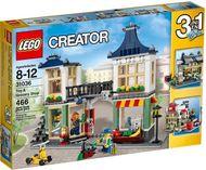 Set 31036-G - Buildings: Toy&Grocery Shop- gebruikt