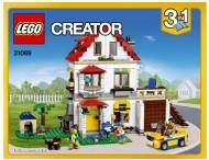 Set 31069 BOUWBESCHRIJVING- Modular Family Villa Friends NIEUW loc