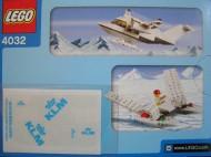 Set 4032-11 - Town: Pasenger Plane- KLM version- Nieuw