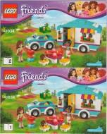 Set 41034 BOUWBESCHRIJVING- Summer Caravan Friends NIEUW loc