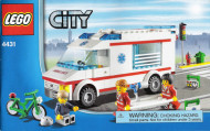 Set 4431 BOUWBESCHRIJVING- Ambulance (1) Ziekenhuis gebruikt loc LOC BE