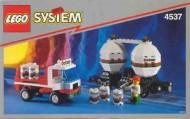 Set 4537 BOUWBESCHRIJVING- Twin Tank Transport Treinen Auto gebruikt loc LOC M1