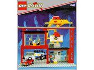 Set 4555 BOUWBESCHRIJVING- Cargo Station Treinen gebruikt loc