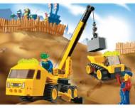 Set 4668-G Outrigger Construction Crane gebruikt D/H/M/97%