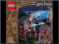 Set 4728 BOUWBESCHRIJVINGS- Harry Potter- Escape from Privet Drive Harry Potter gebruikt loc