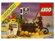 Set 6235 BOUWBESCHRIJVING- Buried Treasure Kastelen gebruikt loc LOC M6