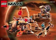 Set 7316 BOUWBESCHRIJVING-  Life on Mars: Excavation Seacher Mars gebruikt loc