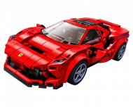 Set 76895-GB Ferrari F8 Tributo gebruikt deels gebouwd *B036
