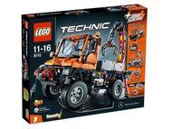 Set 8110 - Technic: Mercedes-Benz Unimog U 400- Nieuw