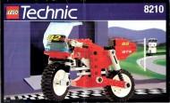 Set 8210 BOUWBESCHRIJVING- Riding Cycle Technic gebruikt loc loc box1