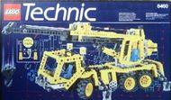 Set 8460 BOUWBESCHRIJVING- Pneumatic Crane Truck Technic Pneumatica gebruikt PUNCHHOLES loc
