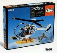 Set 8640 - Technic: Polar Copter- Nieuw