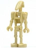 sw0001dG Star Wars:Battle Droid met twee rechte arenm gebruikt *0M0000