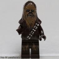 sw532 Star Wars: Chewbacca (Donkercreme masker) NIEUW loc