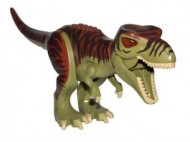 TRex3-155 Dino T-rex groen, olijf NIEUW *