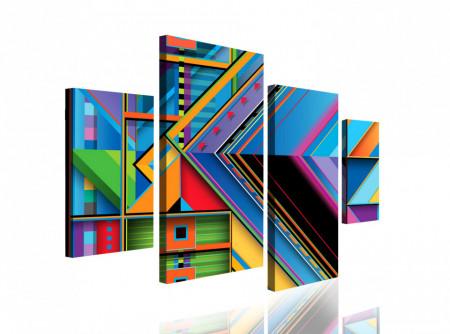 Multicanvas, Geometria colorată