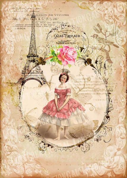 Tablouri Canvas, Fata într-o rochie roză
