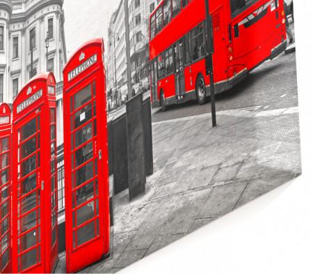 Tablou modular, Cabine telefonice roșii