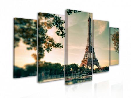Tablou modular, Turnul Eiffel
