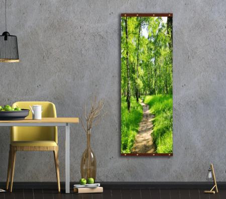 Roll-up, Pădurea verde