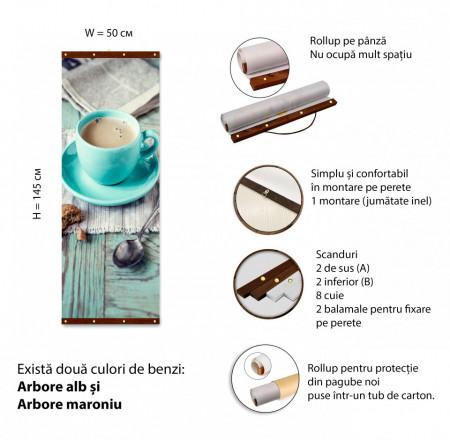 Roll-up, La o ceașcă de cafea