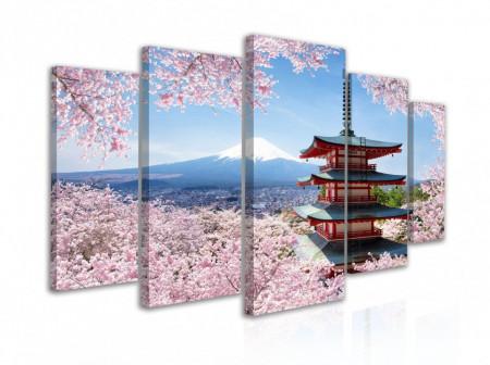 Tablou modular, Peisaj tradițional japonez