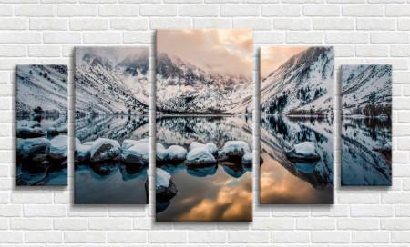 Tablou modular, Lacul din munți