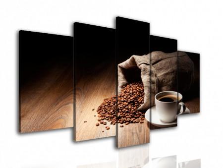 Tablou modular, Un sac de cafea.