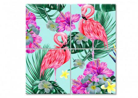 Multicanvas, Flamingo roz.