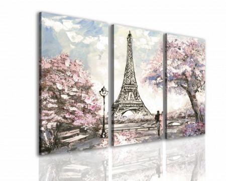 Tablou modular, Dmineața în Paris.