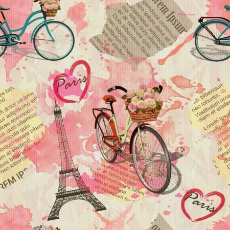 Poster, Provence în nuanțe de roz